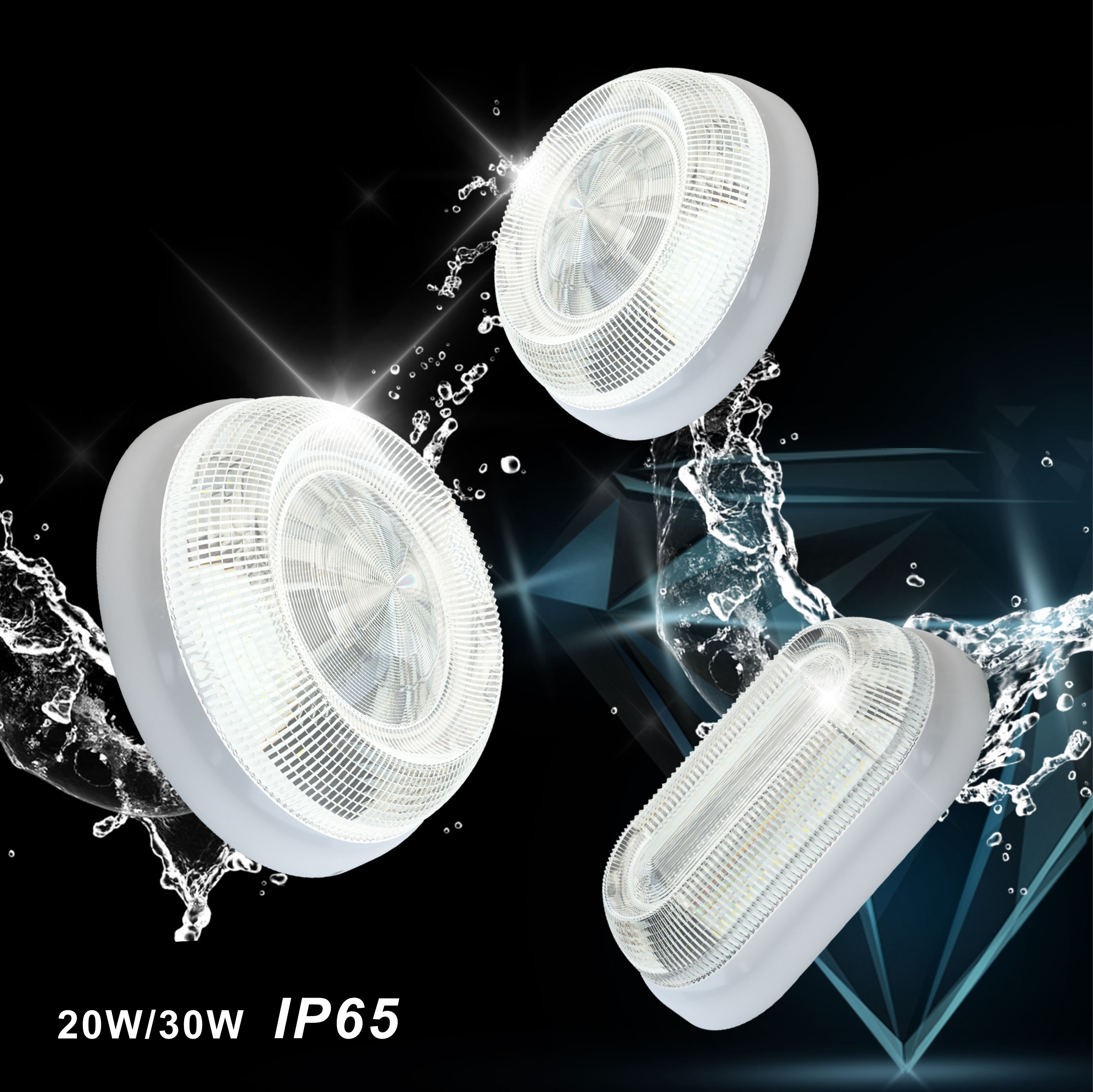 Liper diamond led IP65 downlight