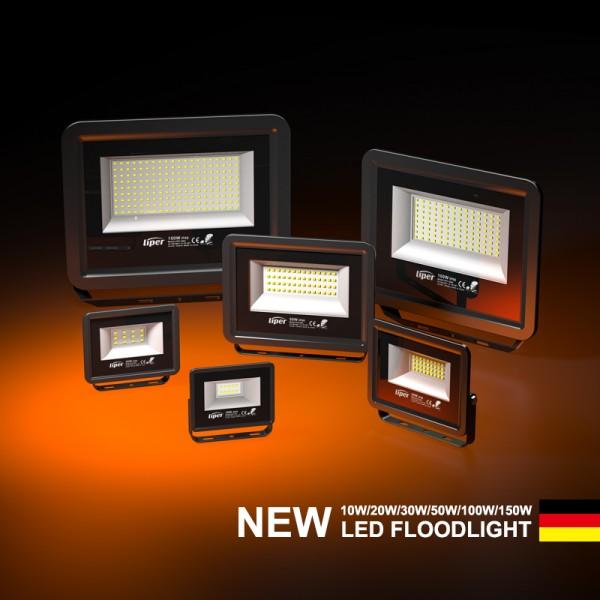 Slim IP66 Floodlight