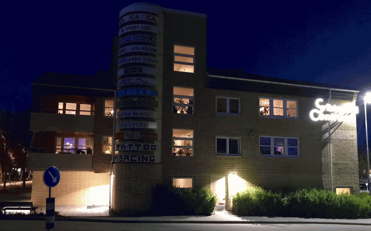 Liper SKD LED Floodlight Project in Sweden